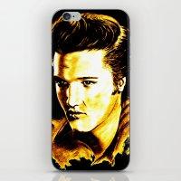 elvis presley iPhone & iPod Skins featuring Elvis Presley by GittaG74