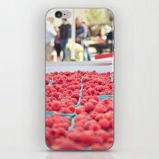 Raspberries iPhone Skin