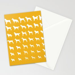 All Dogs (Gold) Stationery Cards