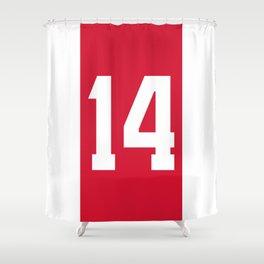 Ajax Cruyff Shower Curtain