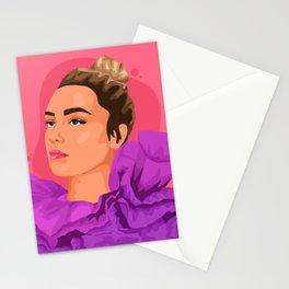 Florence Pugh Stationery Cards