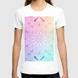 Rainbow Mandala T-shirt