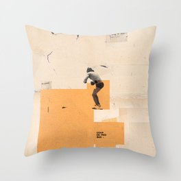 sooner or later 9 Throw Pillow