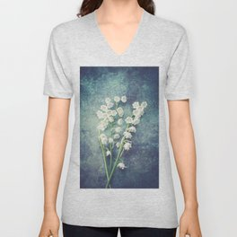 Lily Of The Valley II Unisex V-Neck