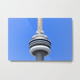 Top Of The CN Tower Metal Print