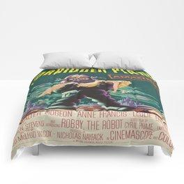 Vintage poster - Forbidden Planet Comforters