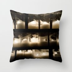 Behind The Light Throw Pillow
