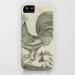 004 gehaubte Hahn (Ger)2 iPhone Case