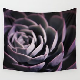 DARKSIDE OF SUCCULENTS II Wall Tapestry