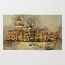Sunset on The Grand Canal Rug
