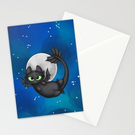 Tiny Toothless Stationery Cards