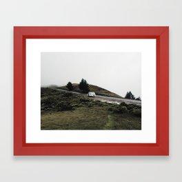 Parked on Mt. Tamalpais Framed Art Print