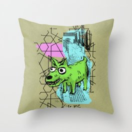 Perrete serie 1 Throw Pillow