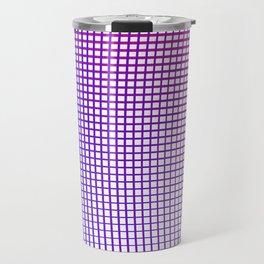 Grid Gradient Travel Mug