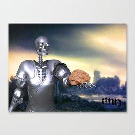 Hamlet Science-Fiction Canvas Print