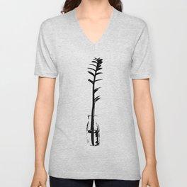 Branch in vase Unisex V-Neck