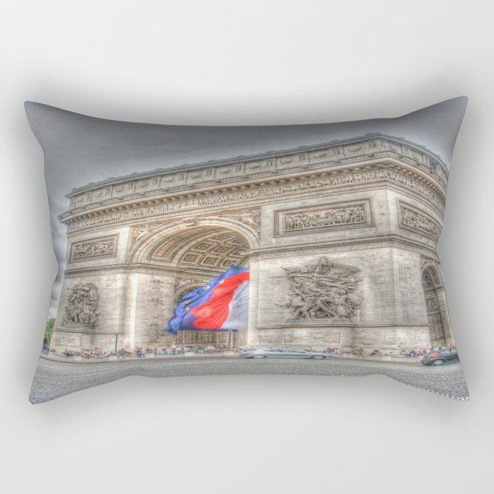 Triumphant Arch Rectangular Pillow