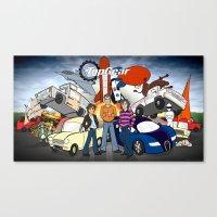 top gear Canvas Prints featuring Top Gear by Anna Rettberg
