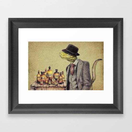 100% Genuine Framed Art Print