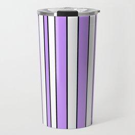 Strips 8-line,band,striped,zebra,tira,linea,rayas,rasguno,rayado. Travel Mug