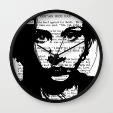 A Tear Fell Wall Clock