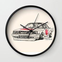 Crazy Car Art 0176 Wall Clock