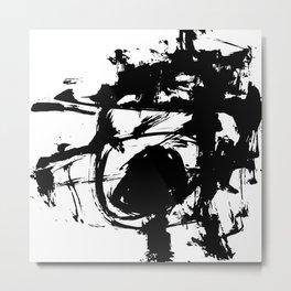 Brushstrokes No.13 by Kathy Morton Stanion Metal Print