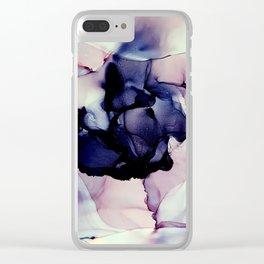 Violeta Clear iPhone Case