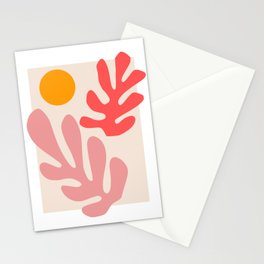 Henri Matisse - Leaves - Blush Stationery Cards