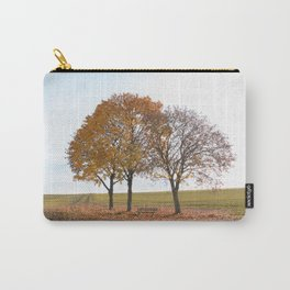Simple autumn scene Carry-All Pouch