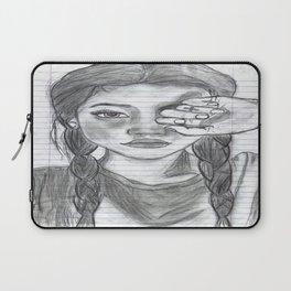 Tumblr girl Laptop Sleeve