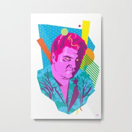 STAN :: Memphis Design :: Miami Vice Series Metal Print