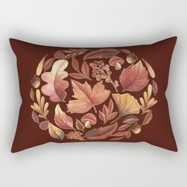 The Winds Of Autumn Have Returned Rectangular Pillow