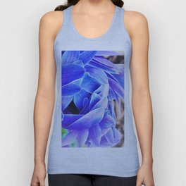 blue anemone Unisex Tank Top