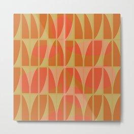 Carioca Tiles  Metal Print