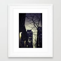 30 rock Framed Art Prints featuring Morning  at 30 Rock by Benjamin Hunter