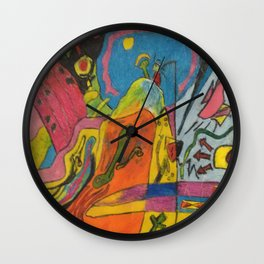 The Rythum of Life Wall Clock