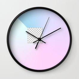 Gradient Composition 3 Wall Clock