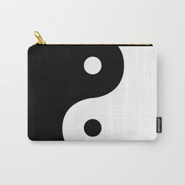 Yin And Yang Sides Carry-All Pouch