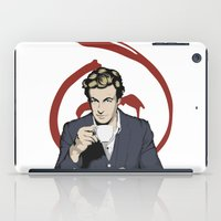 patrick iPad Cases featuring Patrick Jane by Renan Lacerda