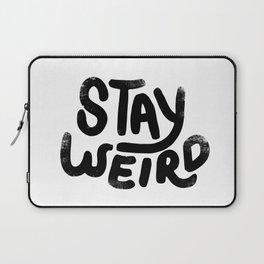 Stay Weird Vintage Laptop Sleeve