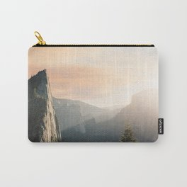 Sun Rising Over the Mountains Carry-All Pouch