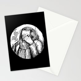 Facepalm Marx Stationery Cards