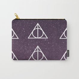 Deathly Hallows Pattern Carry-All Pouch