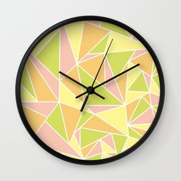 Geometric Skull Wall Clock