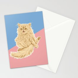 Persian Cat Meow Stationery Cards