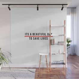 Save Lifes Wall Mural