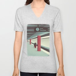 Day Trippers #3 - Waiting Unisex V-Neck