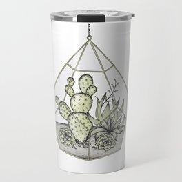 Succulent Terrarium Travel Mug