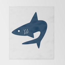 Shark! Throw Blanket
